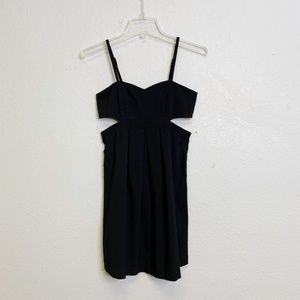 Urban Outfitters Sparkle & Fade Side Cutout Dress